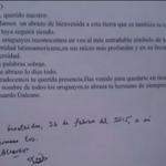 #AHORA I El Pdte. #EvoMorales hace referencia a su viaje a #Uruguay y lee la nota que #EduardoGaleano le escribió http://t.co/LJbsyyNwh9