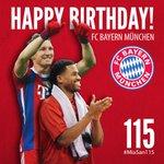HAPPY BIRTHDAY, #FCB! 115 Jahre FC Bayern München! #MiaSan115 #onefamily #nurderfcb http://t.co/da6Oq5PdWc