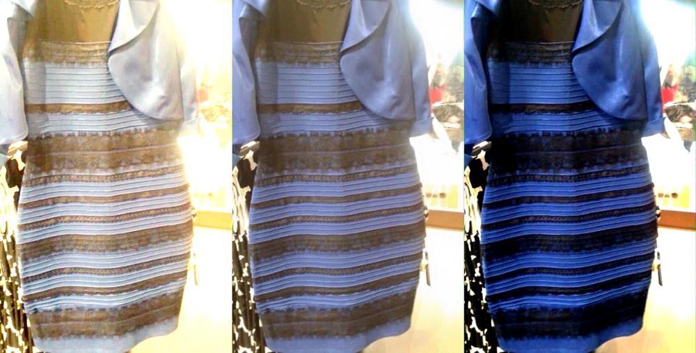 Неврологи попытались объяснить, почему одни видят чёрно-синее платье, а другие — бело-золотое http://t.co/4R5F5KF7Dx http://t.co/QKzmCEsbUP