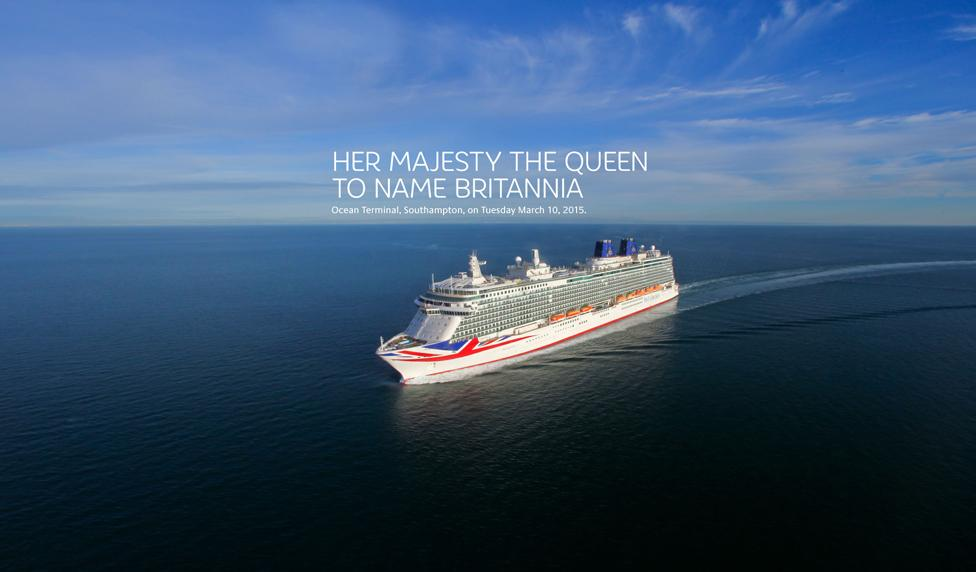 We are pleased to announce that Her Majesty the Queen will be naming #Britannia on Tuesday 10th March. http://t.co/WQ8UmRHZDt