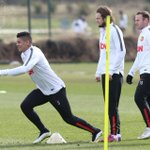 Check out our training gallery as #mufc prepare for tomorrows game vs Sunderland: http://t.co/h9ko4NM5Tf http://t.co/ybYXu7MzV9