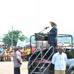 This morning I visited Bundibugyo district and addressed a rally in Bundibugyo town council. http://t.co/42qbN9IPXv