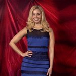 Blue & black! Here's a model wearing #TheDress! http://t.co/xkGvC5T6WW