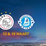Ajax neemt het in de achtste finales van de Europa League op tegen Dnipro Dnipropetrovsk. Dat bleek na loting in Nyon