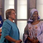 Foto: Presidenta Bachelet sostiene reunión bilateral con directora ejecutiva de ONU Mujeres Phumzile Mlambo-Ngcuka. http://t.co/4dLxxDPgt1
