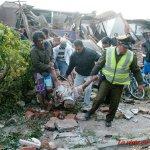 EL 27 de Febrero del 2010 un terremoto 8,8 Richter dejó 547 muertos y 46 desaparecidos. QUE NO LE MIENTAN!!! http://t.co/zIqJmxBgGS