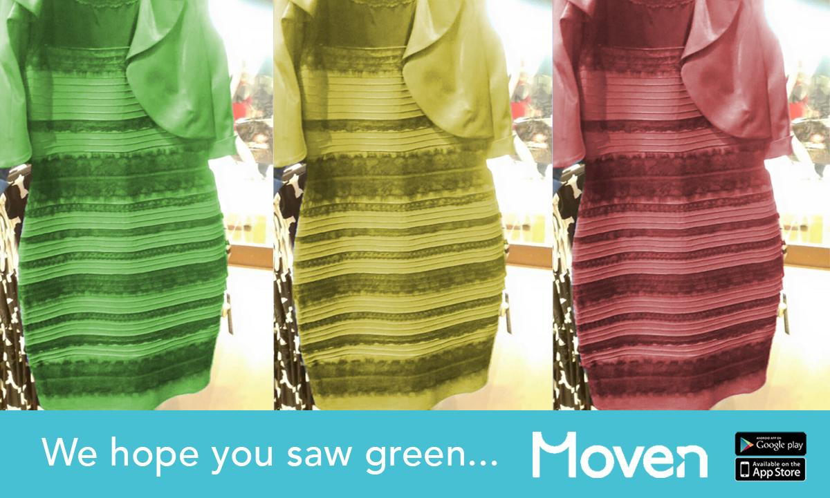 We hope you saw green... #TheDress http://t.co/SO0M0ZorK5