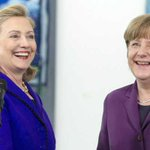 Clinton y Merkel agradecen a #Bachelet por organización de cumbre de #ONUMujeres http://t.co/b14SMlgCM5 http://t.co/ZQvcmAQ9xf