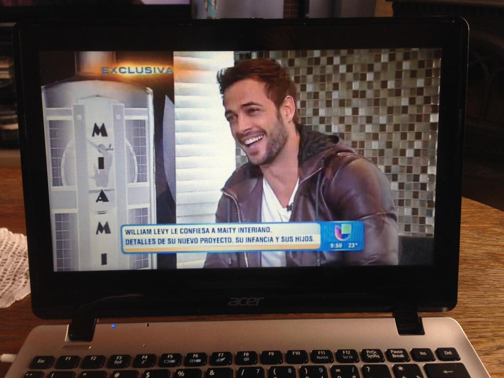 Watching exclusive on @DespiertaAmeric - @willylevy29 talks about his new project, his childhood and their children