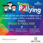 En el #RegresoaClases sigamos alertas contra el acoso o bullying en nuestras escuelas. http://t.co/dao9qMnSP6