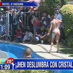 (AHORA) #Viña2015 Jhendelyn Núñez deslumbra con un bikini de cristales http://t.co/qfnmwxLtQj