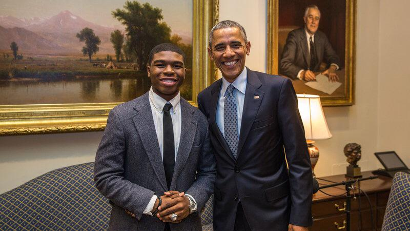 You shouldn't feel like you can't make mistakes, Obama tells Noah McQueen on @StoryCorps http://t.co/reexD4G7Vf #MBK http://t.co/KjI4A5ea0a