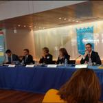 """""""Alcaldes de Montería; Cuenca, Ecuador y Vitoria, España en #ForoIberoamericanoAlcaldes Madrid"""", @monterialcaldia http://t.co/8XZH0l6TT9"""