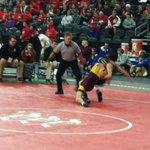 Girl wrestling at state tournament #kelonews http://t.co/lWILI4tinC