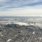 Great view of #Toronto from the sky. http://t.co/ZnRL8tukFS http://t.co/FAfN2yg1oE