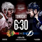 TGI-Gameday! The #Blackhawks take on the Lightning tonight! Your primer for tonights game: http://t.co/S3FkNWeWW2 http://t.co/KChHyhrayn