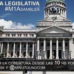 #M1Asamblea @CFKArgentina dará su último discurso ante el Congreso. Cobertura por http://t.co/UX5vw37vfD http://t.co/FiDhcFyJ5l