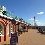 Beautiful sunny day in #Brighton, perfect for strolling past #WestPier arches @lavenderroom @TheBrightoni360. http://t.co/WcMONg45Rs