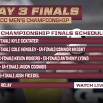 Here is tonights lineup for finals. Tune in to @ESPN3 at 6 pm. #Noles #ACCMSD http://t.co/zgt07uZ4Tc
