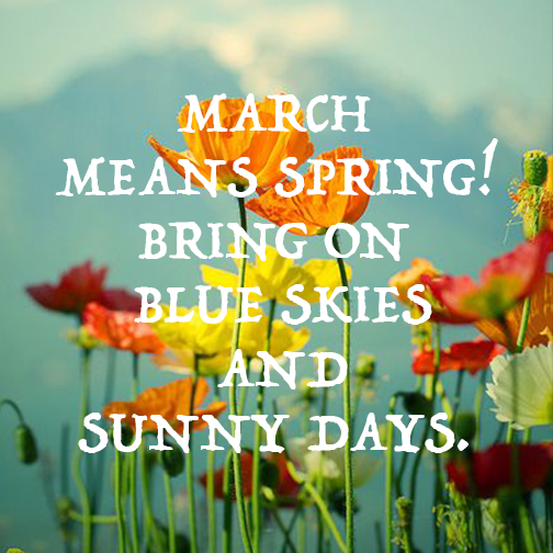 Hello March http://t.co/q0eN2qUzPB