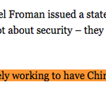 The Obama admin comes out strongly against mandating encryption backdoors...in China. http://t.co/QEbdGpJHXF http://t.co/PCBxycimDm