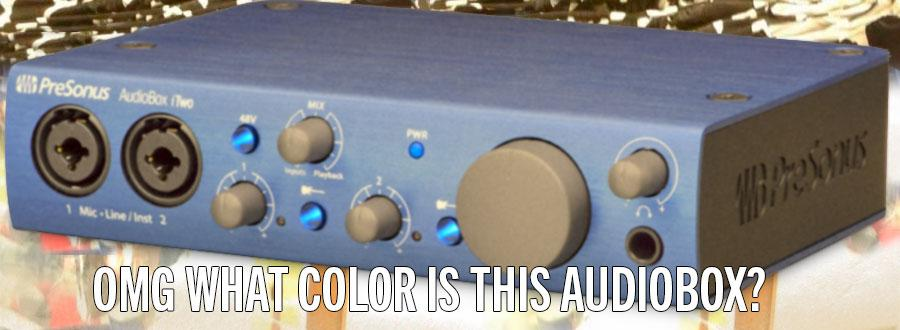 Help us out! Nobody at the office can figure out what color this AudioBox is. #TheDress http://t.co/d65Z0FfLFn