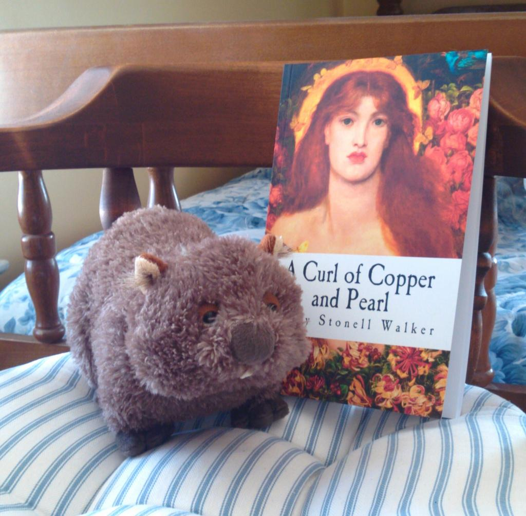 Just finished @boccabaciata's excellent novel. Lady MacWombat's turn! #wombatfriday #indieauthor http://t.co/OQrsCR5Ess