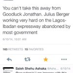 Even APC paid propaganda expert @ogundamisi Kayode could not help but acknowledge PGEJ good works #WeTriumphStill http://t.co/BvETJxP3bH