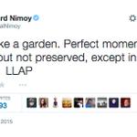 Leonard Nimoys final tweet, #RIP @TheRealNimoy http://t.co/DmNLiHiNQz