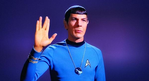 Leonard Nimoy gave us all joy and happiness. We love you, give our greetings to Sarek. Spock lights up the night sky. http://t.co/umA5hLqoJR