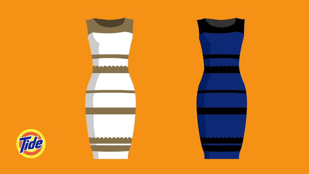 Looks like a problem when you don't use Tide Plus ColorGuard.  #TheDress #DressGate http://t.co/yvUudF50mt