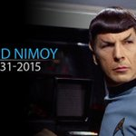 MORE: Leonard Nimoy, Spock of 'Star Trek,' dead at 83. http://t.co/s9R8xiaQie http://t.co/XILS5h3zaq