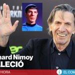 Leonard Nimoy, el Sr. Spock de #StarTrek, ha fallecido a los 83 años » http://t.co/YGSBvtihpf http://t.co/TyoewC5iXi