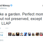 RIP Leonard Nimoy: This is @TheRealNimoys last tweet. Our hearts go out to his family and friends. http://t.co/EQfmVFS0Rx