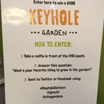 Enter to win this #keyholegarden #keyholecontest @VitaGardens #GBCATL #dbcatl http://t.co/a8eX6ePxcS