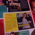 @Nashgrier in Czech magazine ???? Are u kidding me? Nash...if u are in Czech magazine,be proud of u ???? cuz were narnia???? http://t.co/teLeK7Xm4l