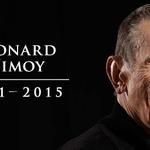 """Live long and prosper."" Leonard Nimoy -- 1931-2015: http://t.co/zQ8CyTFbNn http://t.co/aumpbwM7NB"