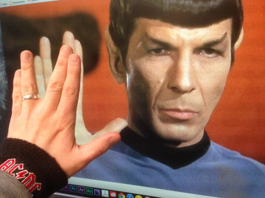 RIP Leonard Nimoy. His legacy will live on. http://t.co/FjqDpTgDKF