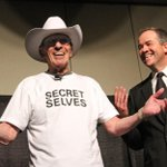 A proud day in #yyc on April 24, 2010: When Leonard Nimoy received our white hat. #spock #StarTrek http://t.co/grzIsXCVrc