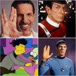 """Ha muerto Leonard Nimoy, actor que interpretó a Mr. Spock de """"Viaje a las Estrellas"""". #panama http://t.co/zMQyZGZ4Xk"""