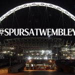 Dont stop tweeting #SpursAtWembley! RTs dont count. Keep your tweets coming in to turn the arch #THFC white! #COYS http://t.co/hfjYW2hLfv