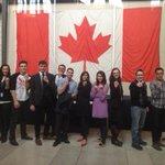 Staff at #parliament united to Shine A Light on Slavery #EndItNow #cdnpoli http://t.co/eArJAxvayj