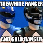 The White and Gold Ranger http://t.co/pGKH5fvNWO