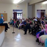Jennifer Johnson @13WHAM celebrating the importance of #reading #ROC #Catholic #Schools #Greece #NY http://t.co/8SUzhMRqKZ