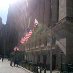 For the first time in its history the Welsh Dragon flies proudly outside the New York Stock Exchange #StDavidsDay http://t.co/zk6LS2IxTr