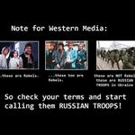 "Russian Troops ARE NOT ""Rebels"" & ""Rebels"" are not in Ukraine... Russian Troops ARE https://t.co/HdTOKXItGV  EMPR http://t.co/PVAMFurWJf"