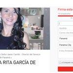 Petición electrónica al Director de Migración para que deporten a Rita tiene muchas firmas. http://t.co/ofQxh1ESoy http://t.co/pZRkqqAMTS