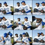 Perez still likes messing with Cains head. #Royals #PhotoDay http://t.co/EHLriEv2PN