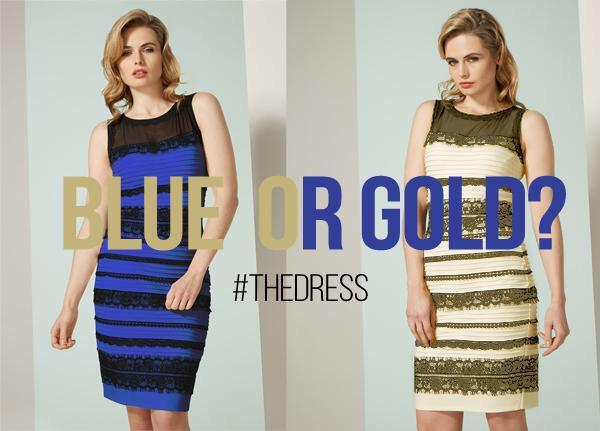 対応早い!(笑)RT @igu3: 例のドレス実際は青と黒らしいけどネットの評判を受けてメーカーは本当に白と金を作るそうです http://t.co/PpH0KipZct #thedress http://t.co/N9fRfrI4ds