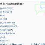 #JulissaCampeona acaba de convertirse en TT ocupando la 6ª posición en Ecuador. Más en http://t.co/ImTx1Tdu04 http://t.co/FYa0zwzxcw